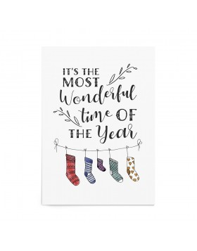 Poster Art Print Most Wonderful Time