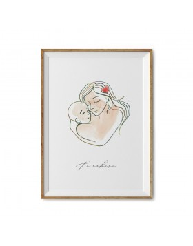 Poster Art Print Mother Love