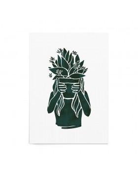 Poster Art Print My Green Life