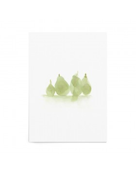 Art Print Olive Pears