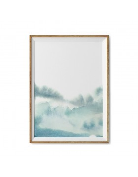 Art Print Peaceful Sky