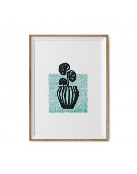 Art Print Pilea Stamp