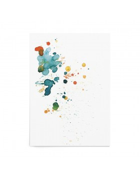 Art Print Sapphire Splash