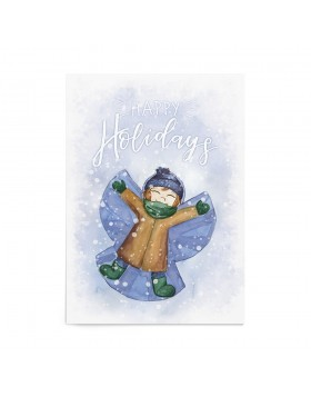 Poster Art Print Snow Angel