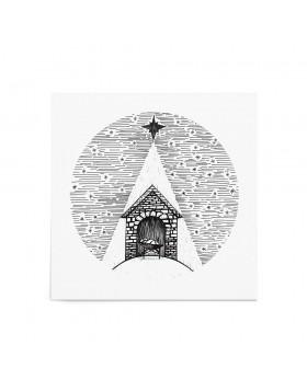 Poster Art Print Winter Nativity Story