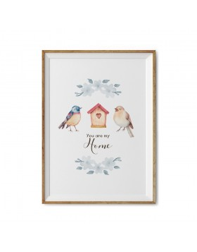 Art Print You are my home
