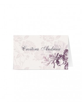 Card de nume Precious Bloom