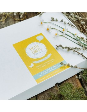 Pachet Activitati Paste Easter Crafts Yellow Pack