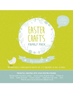 Pachet Activitati Paste Easter Crafts Family Pack