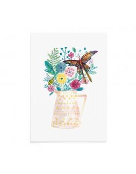 Felicitare Fluturi Beautiful Buzz