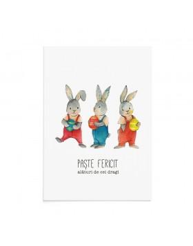 Felicitare Paste Easter Fun