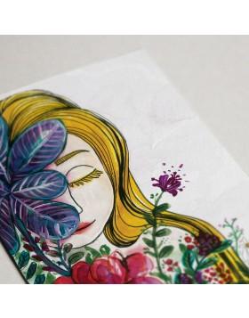 Felicitare 8 Martie Flower Lady