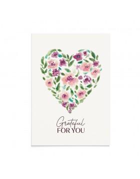 Felicitare Valentine's Grateful Heart