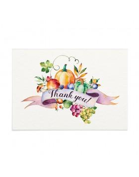Felicitare Multumire Harvest Season En