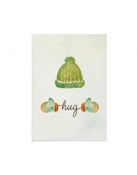 Felicitare Craciun Hug