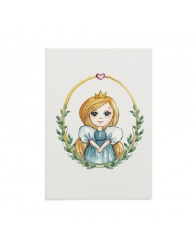 Felicitare Copii Little Princess Anna