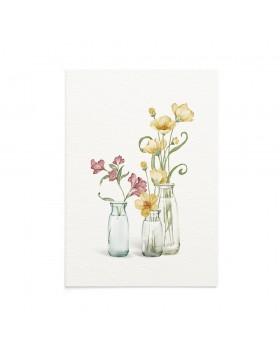 Felicitare Flori 8 Martie Mountain Poppy
