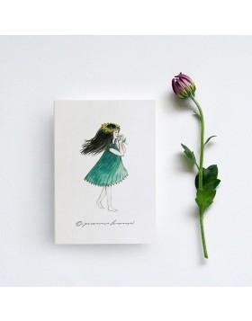 Felicitare 8 Martie Spring Lady