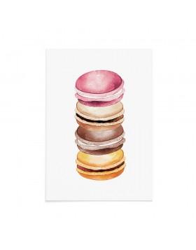 Felicitare Sweet Macaroons