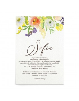Invitatie digitala Gentle Canopy