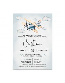 Invitatie digitala Little Explorer