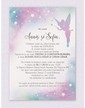 Invitatie digitala Pixie Dust