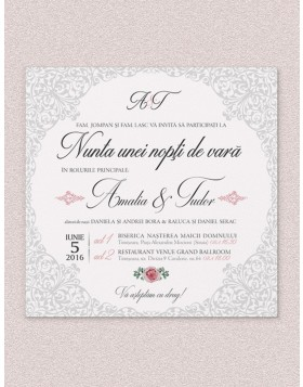 Invitatie digitala Regal Lace
