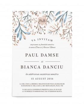 Invitatie digitala Serene Fall