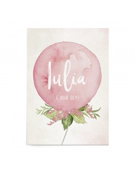 Invitatie digitala Sweet Balloons