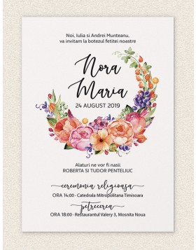 Invitatie digitala Sweet Blessing