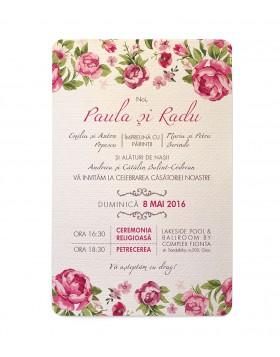 Invitatie de nunta Petrin Affair