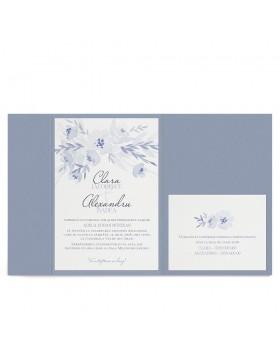 Invitatie nunta Gracious Grays