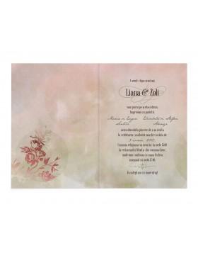 Invitatie Stunning Pastel