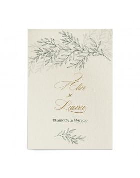 Invitatie de nunta Lavish Foliage Touch