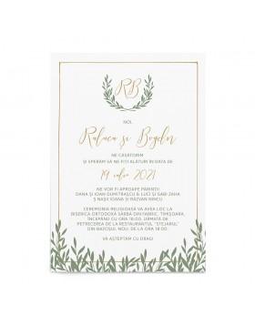 Invitatie de nunta Natural Surrounding