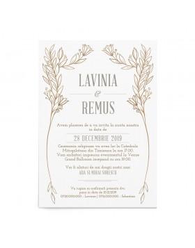 Invitatie de nunta Serene Arch