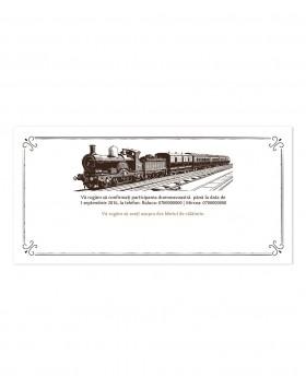 Invitatie Orient Express