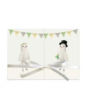 Invitatie de nunta Birdy