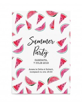 Invitatie petrecere Summer Party