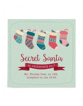 Invitatie de petrecere Secret Gift