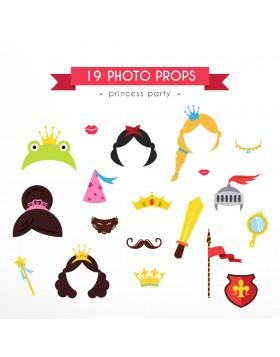Photo Props Princess Party