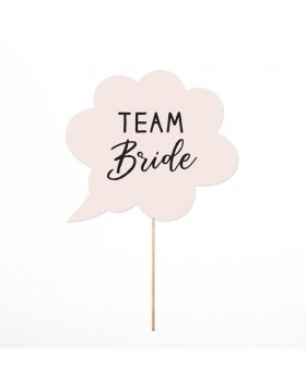 Photo Props Team Bride