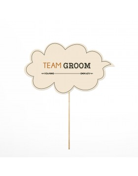 Photo Props Team Groom