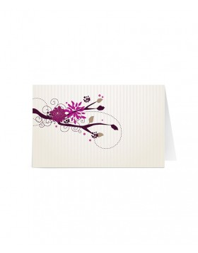 Card de nume Blossom Branch