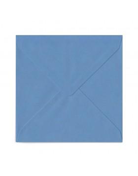 Plic patrat albastru mineral 155X155 mm