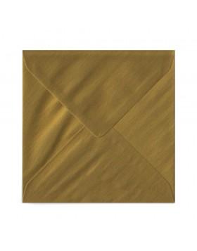 Plic patrat auriu 155X155 mm