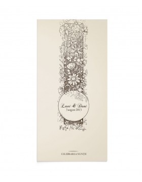 Card de program Cartea Nuntii