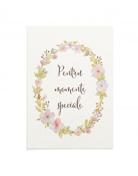 Felicitare Special Moments
