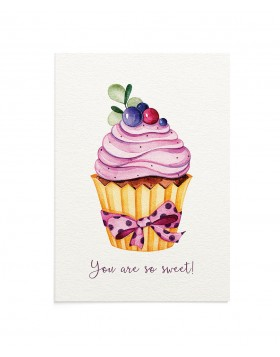 Felicitare Sweet Cupcake