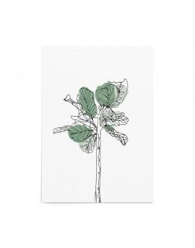 Art Print Fig Tree